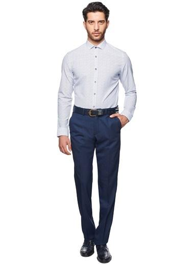 Uzun Kollu Slim Fit Gömlek-Altınyıldız Classics
